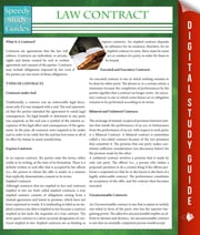 Law Contracts (Speedy Study Guides) ebook by Speedy Publishing