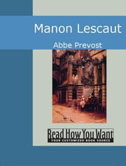 Manon Lescaut ebook by Abbe Prevost