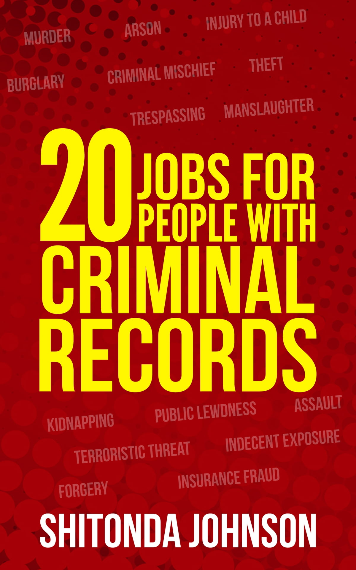 20 Jobs for People With Criminal Records eBook by Shitonda