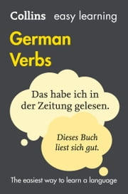 Easy Learning German Verbs (Collins Easy Learning German) ebook by Collins Dictionaries
