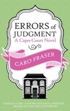 Errors of Judgment ebook by Caro Fraser