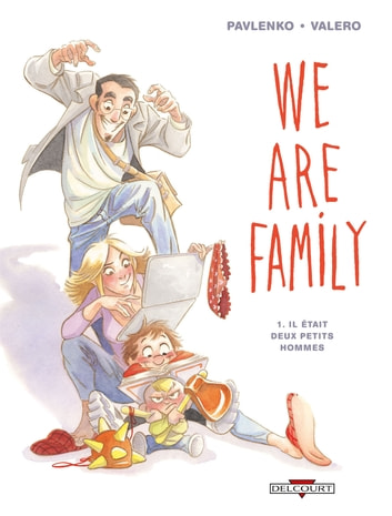 We are family ! T01 - Il était deux petits hommes eBook by Marie Pavlenko,Teresa Valero