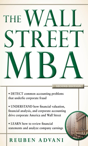 The Wall Street MBA, Second Edition ebook by Reuben Advani