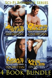 Futuristic Heroes: 4 Sci-Fi Romance Novel Box Set - Futuristic Romance ebook by Lyn Brittan