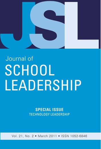 Jsl Vol 21-N2 ebook by JOURNAL OF SCHOOL LEADERSHIP
