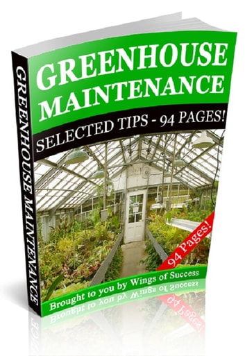 Greenhouse Maintenance eBook by Anonymous