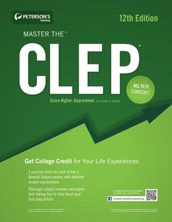 master the humanities clep test ebook by peterson s 9780768937442 rh kobo com Study Guides CLEP Subject-Specific American Literature CLEP Study Guide