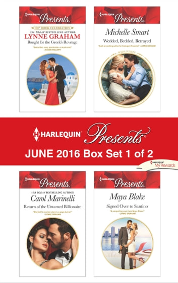 Harlequin Presents June 2016 - Box Set 1 of 2 - An Anthology 電子書籍 by Lynne Graham,Carol Marinelli,Michelle Smart,Maya Blake