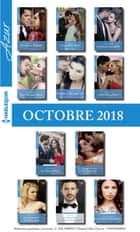 11 romans Azur (n° 4004 à 4014 - Octobre 2018) ebook by