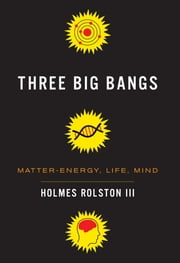 Three Big Bangs - Matter-Energy, Life, Mind ebook by Holmes Rolston III