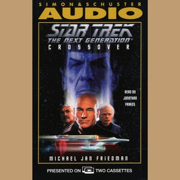 Crossover audiobook by Michael Jan Friedman