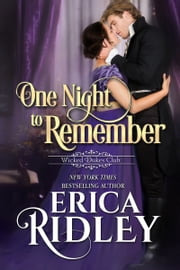 One Night to Remember ebook by Erica Ridley