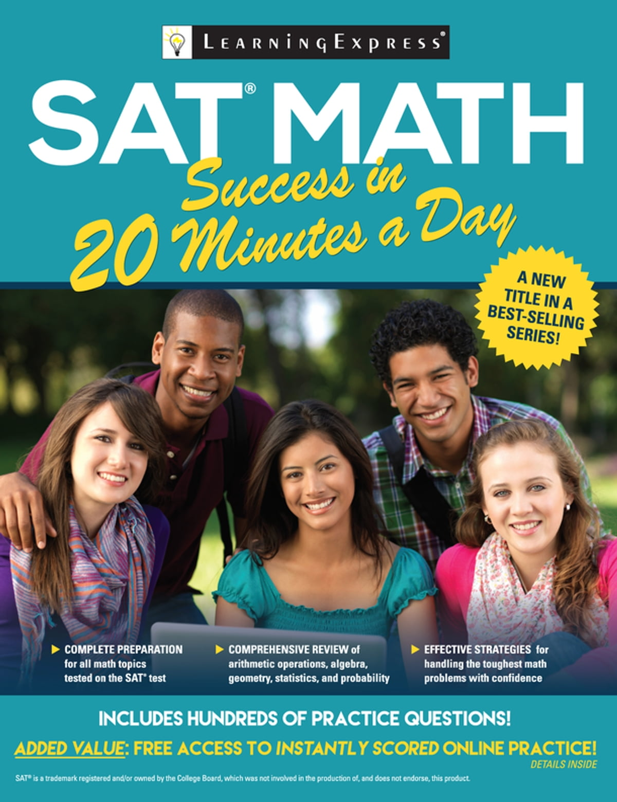 Workbooks kaplan sat math workbook : SAT Math Success in 20 Minutes a Day eBook by LearningExpress ...