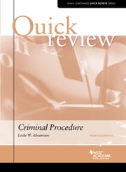 Quick Review of Criminal Procedure ebook by Leslie Abramson