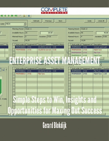 Enterprise Asset Management - Simple Steps to Win, Insights and Opportunities for Maxing Out Success ebook by Gerard Blokdijk