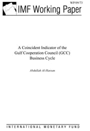 A Coincident Indicator of the Gulf Cooperation Council (GCC) Business Cycle ebook by Al-Hassan, Abdullah