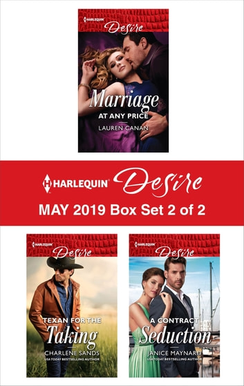 Harlequin Desire May 2019 - Box Set 2 of 2 - An Anthology ekitaplar by Lauren Canan,Charlene Sands,Janice Maynard