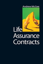 Life Assurance Contracts ebook by Andrew McGee