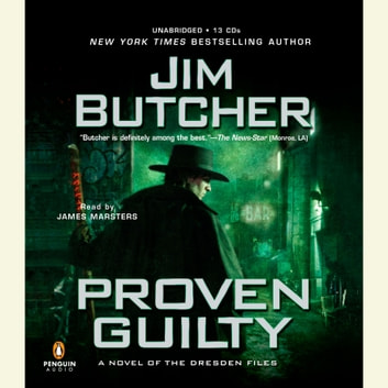 Proven Guilty audiobook by Jim Butcher