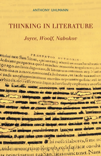 Thinking in Literature: Joyce, Woolf, Nabokov ebook by Professor Anthony Uhlmann