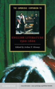 The Cambridge Companion to English Literature, 1500–1600 ebook by Arthur F. Kinney