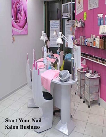 Start Your Nail Salon Business eBook by V.T. - 1230000234384 ...