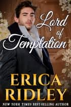 Lord of Temptation ebook by Erica Ridley