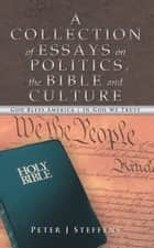 A Collection of Essays on Politics, the Bible and Culture ebook by Peter J Steffens