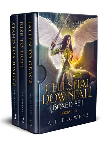Celestial Downfall Boxed Set - Books 1 - 3 ebook by A.J. Flowers