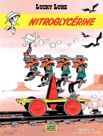 Lucky Luke - tome 25 - Nitroglycérine ebook by Van Banda