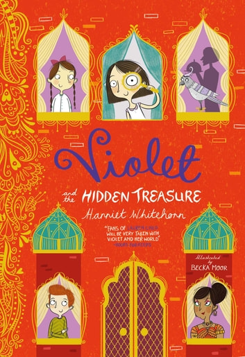 Violet and the Hidden Treasure ebook by Harriet Whitehorn