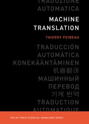 Machine Translation ebook by Thierry Poibeau