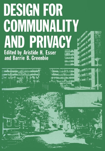 Design for Communality and Privacy ebook by