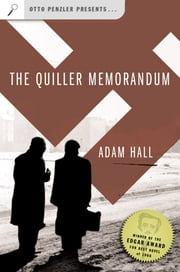 The Quiller Memorandum ebook by Adam Hall