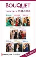 Bouquet e-bundel nummers 3981 - 3988 - 8-in-1 ebook by Lynne Graham, Caitlin Crews, Julia James,...