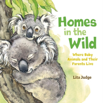 Homes in the Wild - Where Baby Animals and Their Parents Live ebook by Lita Judge