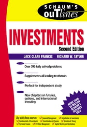 Schaum's Outline of Investments ebook by Jack Francis,Richard Taylor