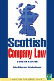 Scottish Company Law ebook by Brian Pillans,Nicholas Bourne