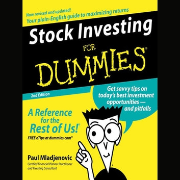 Stock Investing for Dummies 2nd Ed. audiobook by Paul Mladjenovic