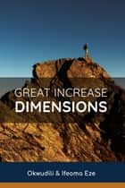 Great Increase Dimension ebook by Ifeoma Eze