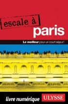 Escale à Paris ebook by Yan Rioux