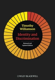 Identity and Discrimination ebook by Timothy Williamson
