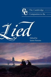 The Cambridge Companion to the Lied ebook by Parsons, James