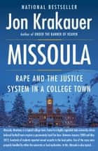 Missoula ebook by Jon Krakauer