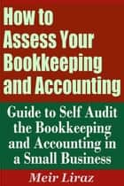 How to Assess Your Bookkeeping and Accounting: Guide to Self Audit the Bookkeeping and Accounting in a Small Business ebook by Meir Liraz
