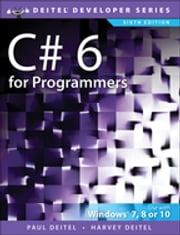 C# 6 for Programmers ebook by Harvey Deitel, Paul Deitel