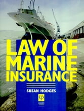 Law of Marine Insurance ebook by Susan Hodges