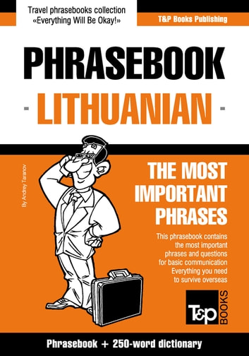 English-Lithuanian phrasebook and 250-word mini dictionary eBook by Andrey Taranov