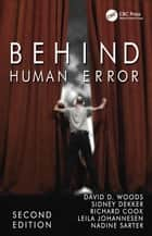 Behind Human Error ebook by David D. Woods, Sidney Dekker, Richard Cook,...