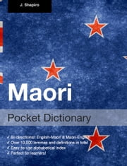 Maori Pocket Dictionary ebook by John Shapiro